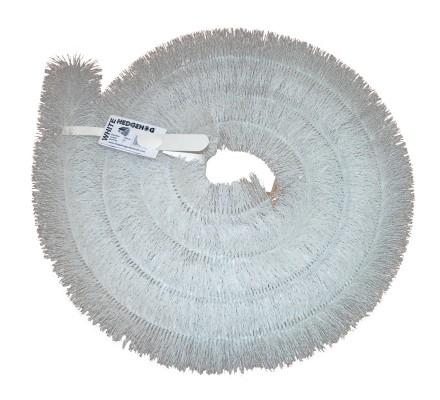 Protège gouttière Hedgehog Blanc 4m (1 X 4m) 100mm
