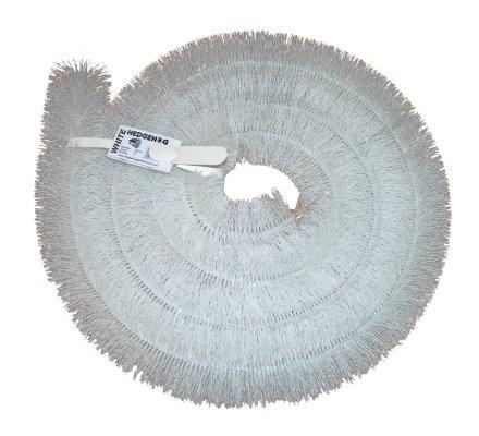 Protège gouttière Hérisson Brosse Blanc 20m (5 X 4m)-100 mm